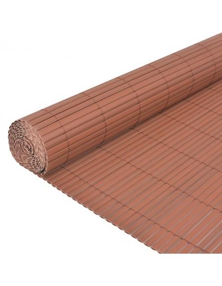 Kambario pertvara iš bambuko, tamsiai ruda, 250x195 cm | Kambario Pertvaros | duodu.lt