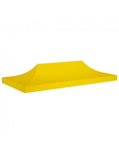 Proginės palapinės stogas, geltonos spalvos, 6x3m, 270 g/m²   Tentų ir Pavėsinių Stogeliai   duodu.lt