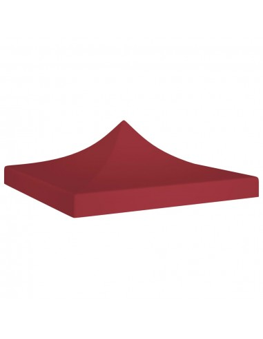 Proginės palapinės stogas, tamsiai raudonas, 2x2m, 270 g/m²    Tentų ir Pavėsinių Stogeliai   duodu.lt