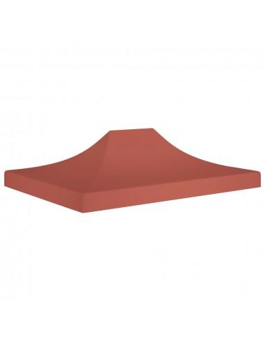 Proginės palapinės stogas, terakota spalvos, 4,5x3m, 270 g/m²   Tentų ir Pavėsinių Stogeliai   duodu.lt