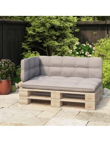Atlošas sofai iš palečių, juodas, 110cm, geležis  | Lauko Baldų Aksesuarai | duodu.lt