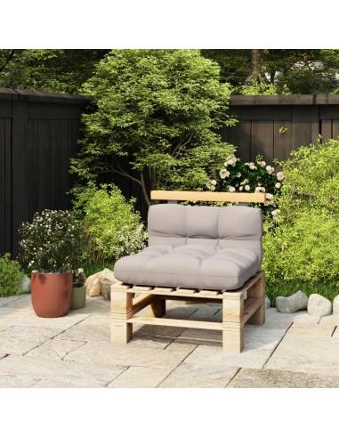 Atlošas sofai iš palečių, 70cm, pušies medienos masyvas | Lauko Baldų Aksesuarai | duodu.lt