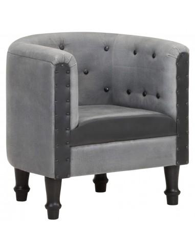 Krėslas, juodos spalvos, tikra oda ir mango medienos masyvas | Foteliai, reglaineriai ir išlankstomi krėslai | duodu.lt