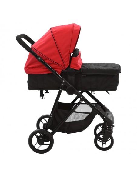 Vaikiškas vežimėlis dvynukams, plienas, pilkas/juodas | Kūdikių Vėžimėliai | duodu.lt