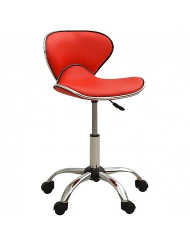Spa salono kėdė, raudonos spalvos, dirbtinė oda | Salonų Kėdės | duodu.lt