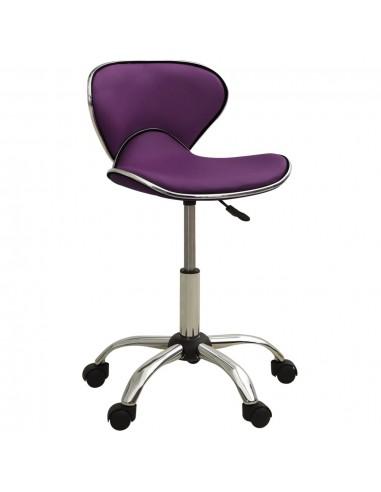 Spa salono kėdė, violetinės spalvos, dirbtinė oda   Salonų Kėdės   duodu.lt