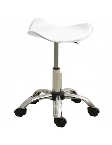 Spa salono taburetė, baltos spalvos, dirbtinė oda   Salonų Kėdės   duodu.lt