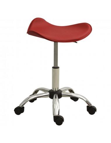 Spa salono taburetė, raudonojo vyno spalvos, dirbtinė oda   Salonų Kėdės   duodu.lt