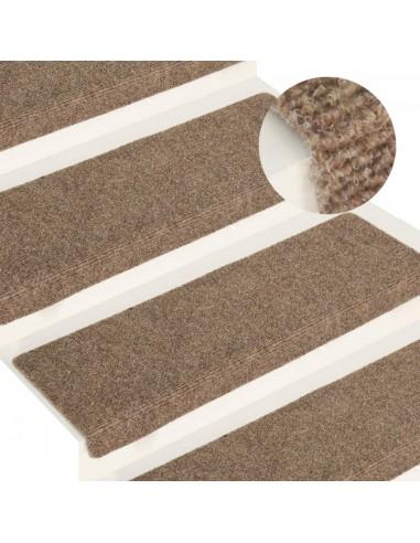 Laiptų kilimėliai, 15 vnt., kreminės spalvos, 65x25 cm   Laiptų kilimėliai   duodu.lt