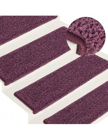 Laiptų kilimėliai, 15vnt., tamsiai violetinės spalvos, 65x25cm   Laiptų kilimėliai   duodu.lt