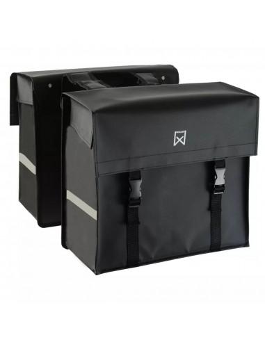 Willex Dviračio krepšiai, 40L, matinė juoda, tarpaulin    Dviračių krepšiai ir pintinės   duodu.lt