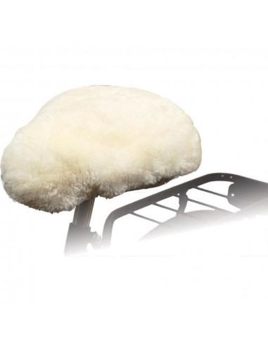 Willex Dviračio sėdynės užvalkalas, natūralios spalvos, avies oda | Dviračių sėdynių įdėklai ir užvalkalai | duodu.lt