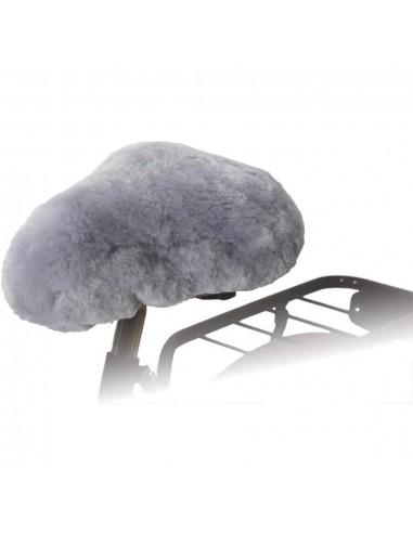 Willex Dviračio sėdynės užvalkalas, pilkos spalvos, avies oda | Dviračių sėdynių įdėklai ir užvalkalai | duodu.lt