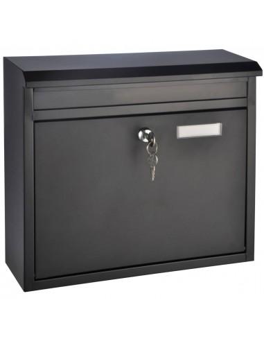 HI Pašto dėžutė, juodos spalvos, 36x12x32cm   Pašto dėžutės   duodu.lt