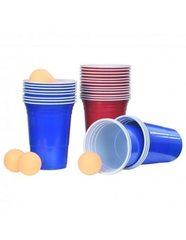 Beer Pong stalo žaidimo rinkinys, 0,5l, plastikas   Alaus pongas   duodu.lt