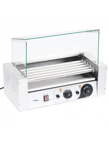 Dešrainių gaminimo aparatas su stikliniu dangčiu, 1000W   Dešrainių gaminimo aparatai   duodu.lt