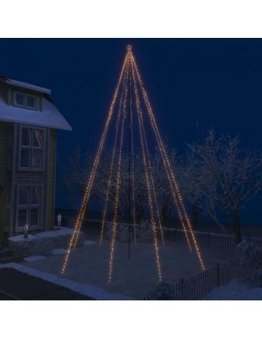 Kalėdų eglutės girlianda-krioklys, 1300 LED lempučių, 8m   Šventiniai papuošimai   duodu.lt