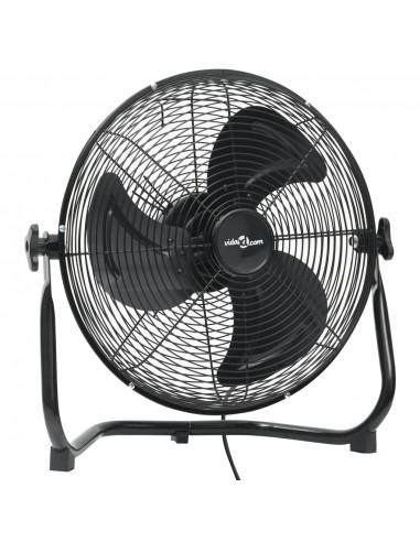 Pastatomas ventiliatorius, juodas, 40cm, 3 greičiai, 40W | Ventiliatoriai | duodu.lt