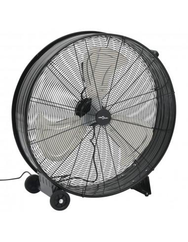 Pramoninis ventiliatorius, juodos spalvos, 77cm, 180W | Ventiliatoriai | duodu.lt