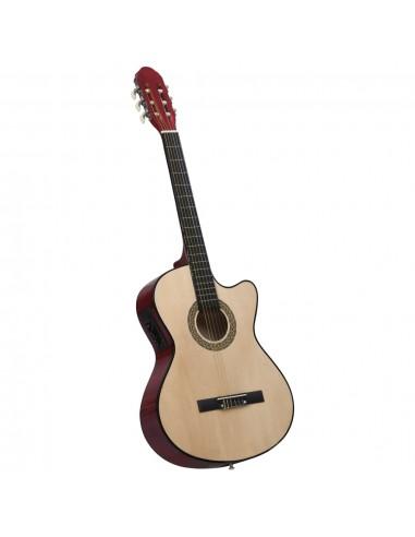 Akustinė gitara su ekvalaizeriu ir 6 stygomis   | Gitaros | duodu.lt