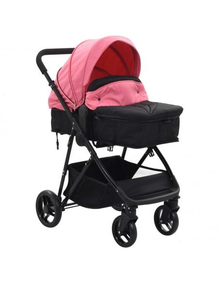 Vaikiškas dvivietis vežimėlis, plienas, mėlynas/juodas | Kūdikių Vėžimėliai | duodu.lt
