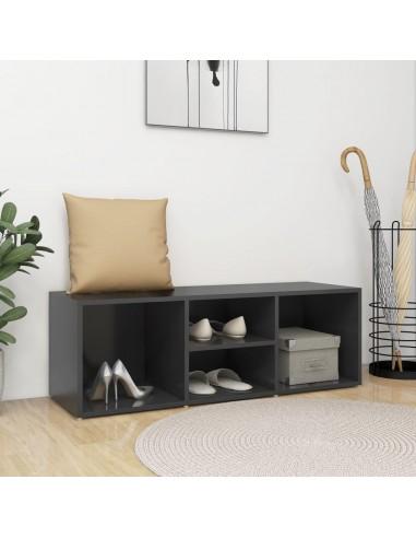 Spintelė batams-suoliukas, pilkos spalvos, 105x35x35cm, MPD   Stovai ir Lentynos Avalynei   duodu.lt