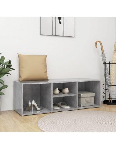 Spintelė batams-suoliukas, betono pilka, 105x35x35cm, MPD | Stovai ir Lentynos Avalynei | duodu.lt