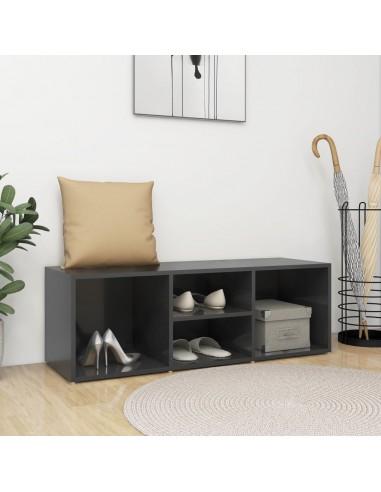 Spintelė batams-suoliukas, pilkos spalvos, 105x35x35cm, MPD | Stovai ir Lentynos Avalynei | duodu.lt
