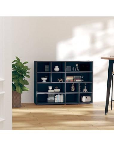 Šoninė spintelė, pilkos spalvos, 97x32x72cm, MDP | Spintos ir biuro spintelės | duodu.lt