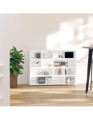 Šoninė spintelė, baltos spalvos, 97x32x72cm, MDP, blizgi | Spintos ir biuro spintelės | duodu.lt