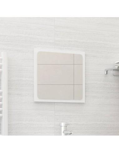 Vonios kambario veidrodis, baltos spalvos, 40x1,5x37cm, MDP | Vonios Spintelės | duodu.lt