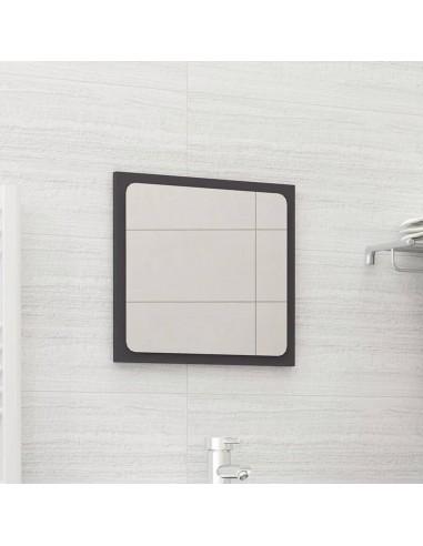 Vonios kambario veidrodis, pilkos spalvos, 40x1,5x37cm, MDP   Vonios Spintelės   duodu.lt
