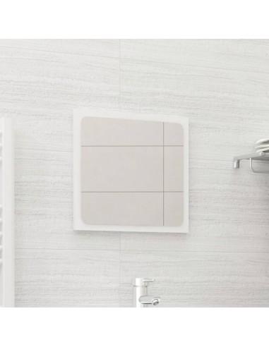 Vonios kambario veidrodis, baltas, 40x1,5x37cm, MDP, blizgus   Vonios Spintelės   duodu.lt
