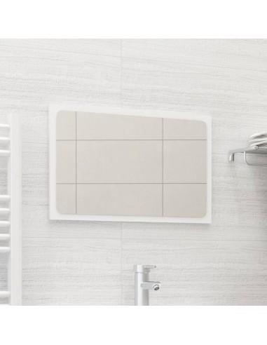 Vonios kambario veidrodis, baltos spalvos, 60x1,5x37cm, MDP | Vonios Spintelės | duodu.lt