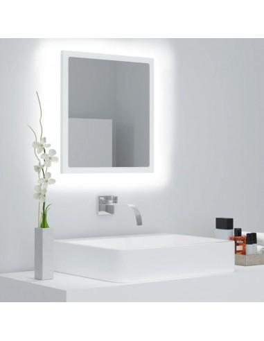 Vonios kambario veidrodis, baltos spalvos, 40x8,5x37cm, MDP   Vonios Spintelės   duodu.lt