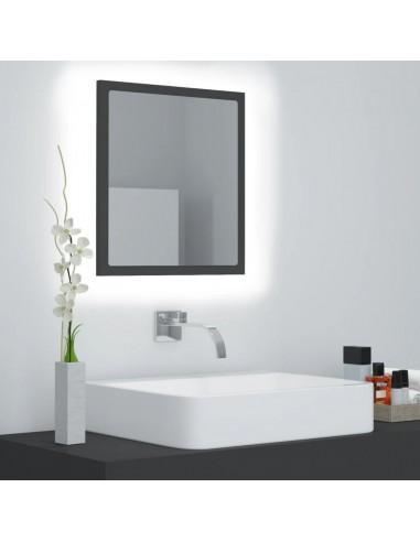 Vonios kambario veidrodis, pilkos spalvos, 40x8,5x37cm, MDP   Vonios Spintelės   duodu.lt