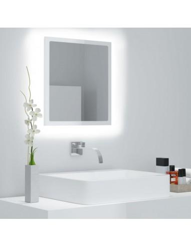 Vonios kambario veidrodis, baltas, 40x8,5x37cm, MDP, blizgus   Vonios Spintelės   duodu.lt