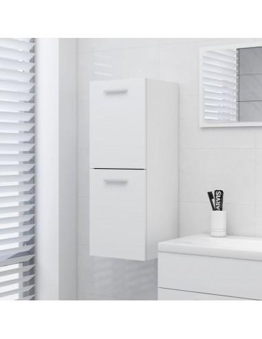 Vonios kambario spintelė, baltos spalvos, 30x30x80cm, MDP | Vonios baldų komplektai | duodu.lt