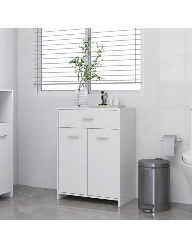 Vonios kambario spintelė, baltos spalvos, 60x33x80cm, MDP | Vonios baldų komplektai | duodu.lt
