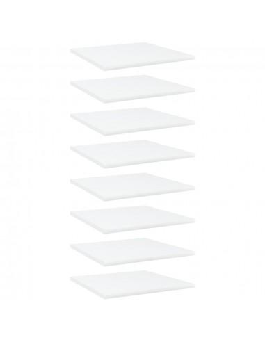 Knygų lentynos plokštės, 8vnt., baltos, 40x40x1,5cm, MDP | Lentynų priedai | duodu.lt