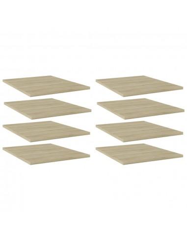 Knygų lentynos plokštės, 8vnt., ąžuolo, 40x50x1,5cm, MDP | Lentynų priedai | duodu.lt