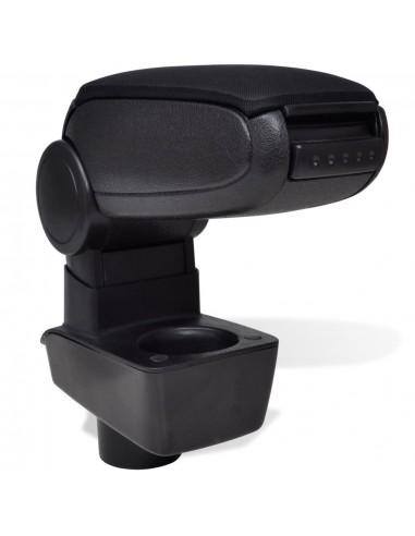 Juodas Automobilio Porankis - Ford Fiesta MK7 (2009) | Transporto Priemonių Sėdynės | duodu.lt