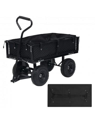 Sodo vežimėlio įdėklas, juodos spalvos, 86x46x22cm, audinys | Dalys karučiams | duodu.lt