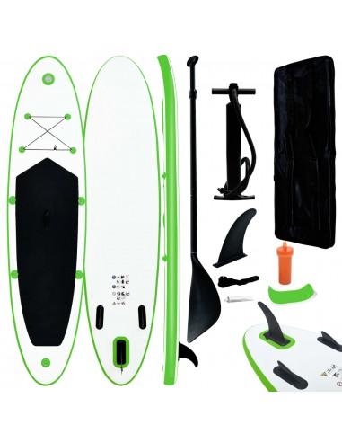 Pripučiamos irklentės rinkinys, žalios ir baltos spalvos | Irklentės | duodu.lt