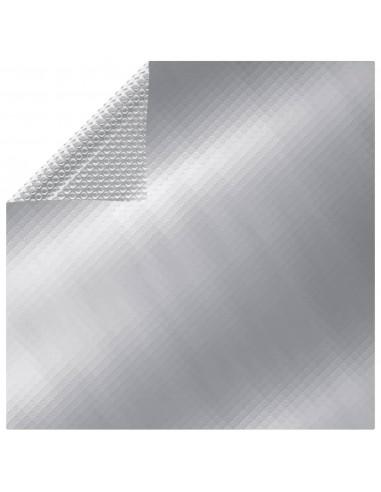 Saulės šviesą sugerianti baseino plėvelė, sidabrinė, 6x4m, PE | Baseinų Uždangailai ir Apsauginės Plėvelės | duodu.lt