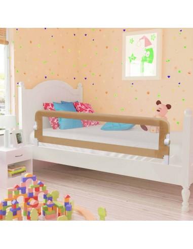 Apsauginis turėklas vaiko lovai, taupe sp., 150x42cm, poliest. | Apsauginiai turėklai kūdikiams | duodu.lt