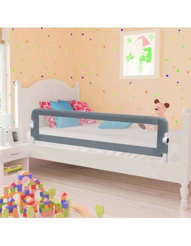 Apsauginis turėklas vaiko lovai, pilk. sp., 150x42cm, poliest. | Apsauginiai turėklai kūdikiams | duodu.lt
