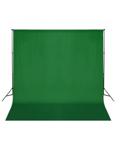 Fono rėmo sistema, 600 x 300 cm, žalia | Fono Sistemos | duodu.lt