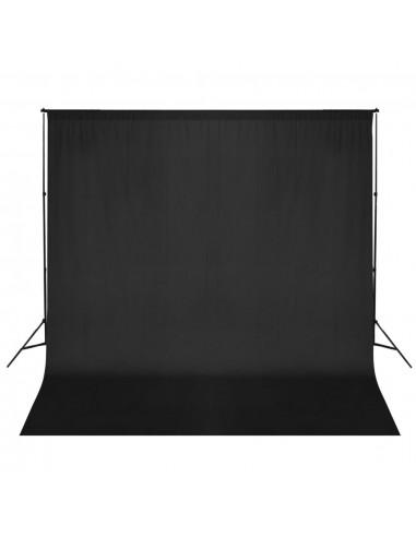 Fotografijos fono rėmo sistema, 600 x 300 cm, juoda | Fono Sistemos | duodu.lt