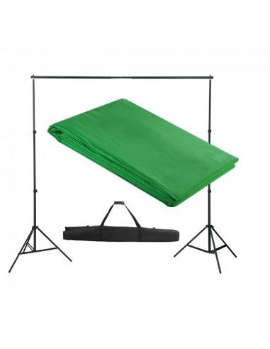 Fono rėmo sistema, 300 x 300 cm, žalia | Fono Sistemos | duodu.lt